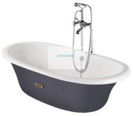 Чугунена вана NEWCAST в сиво ROCA 1700/850