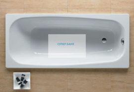 Стоманена вана CONTESA ROCA 160x70cm.
