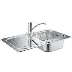 Комплект кухненска мивка 86*50 и смесител