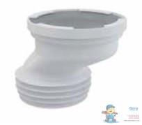 Маншон  за WC - ексцентрик 40мм, къс