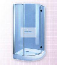 Овална душ кабина 90/90 - Китай