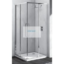 IDEAL STANDART Душ кабина KUBO квадратна, стъкло прозрачно покритие - 80 cm