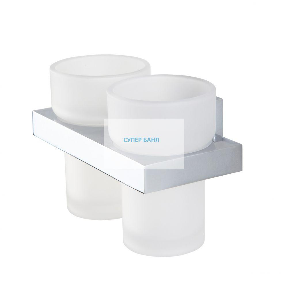 двойна чаша за четки за зъби ITEMS