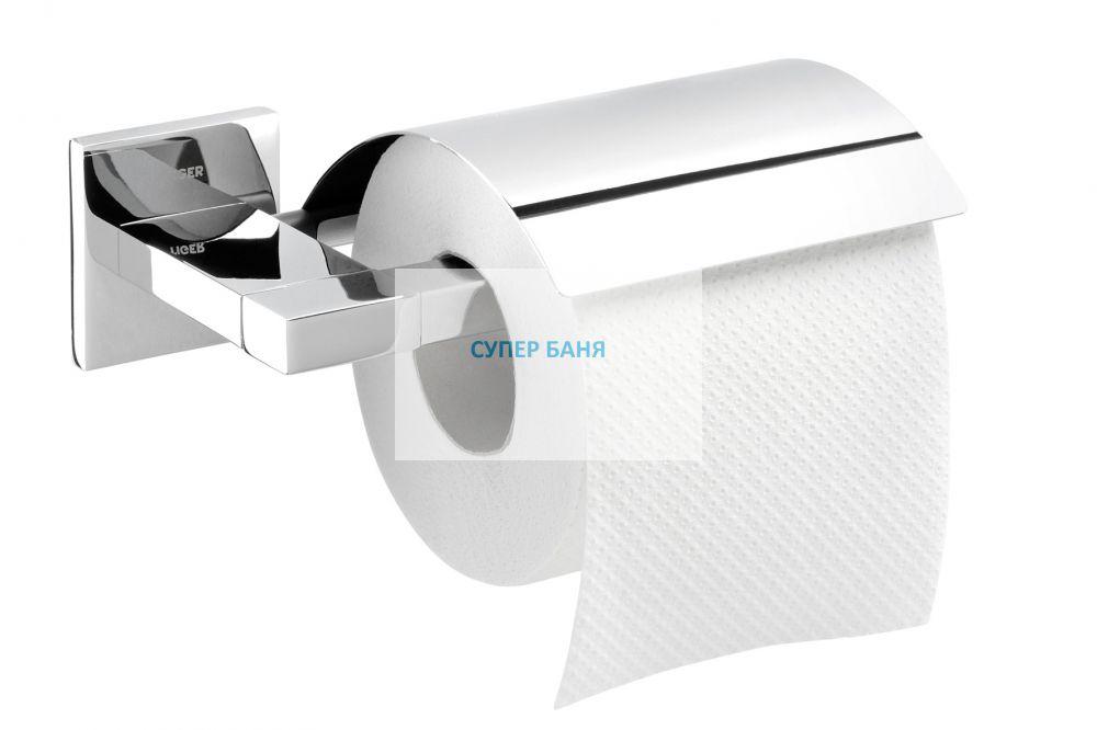 държач за тоалетна хартия с капак ITEMS