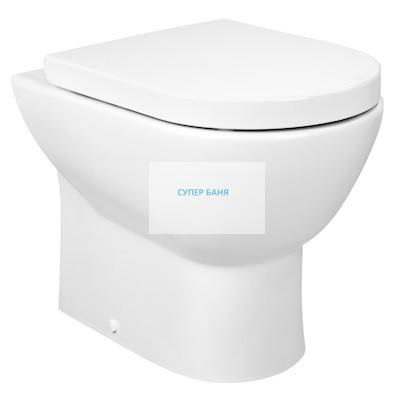 Tipo стояща тоалетна чиния с двойно оттичане - Roca
