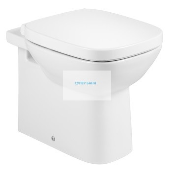 Debba стояща тоалетна чиния с двойно оттичане - Roca